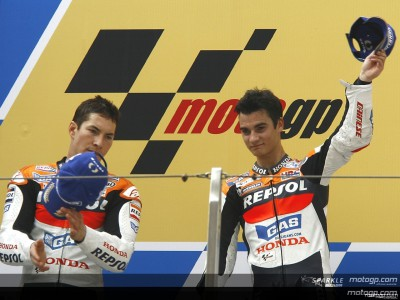 Repsol Honda out in front in team standings