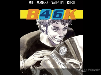 Rossi comic book goes on sale