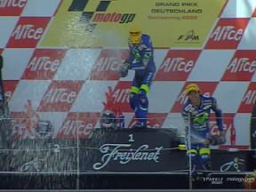 Sachsenring 2005 : Pedrosa renoue avec la victoire