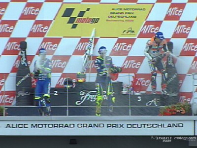 In Germania la vittoria numero 76 per Rossi