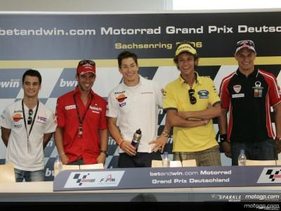 betandwin.com Motorrad GP Deutschland: Conferenza Stampa