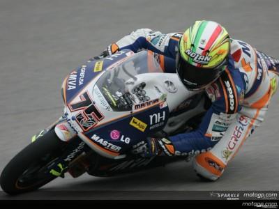 Pasini on 125cc provisional pole