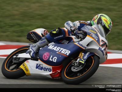 Mattia Pasini conferma la velocità di ieri