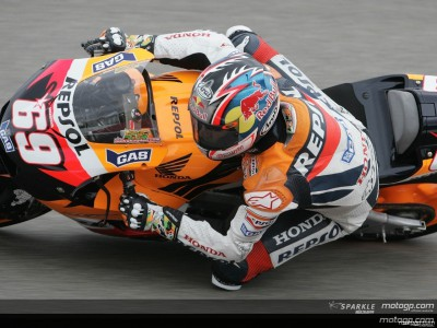 Hayden fastest in Germany free practice
