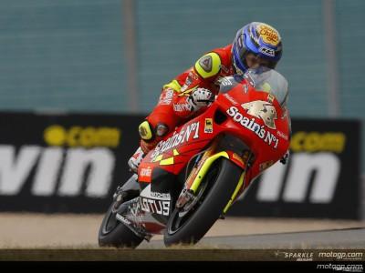 Lorenzo and Dovizioso close in 250cc practice