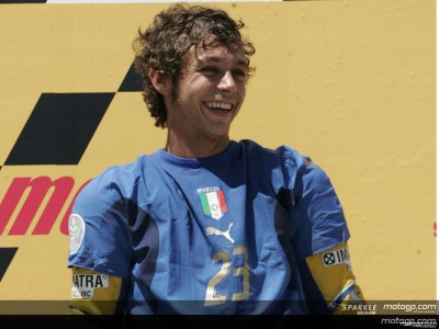 Rossi commemorates another Italian win in Germany
