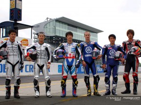 Tamada and Edwards, face to face at Suzuka 8 Hours race
