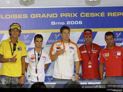 Gauloises Grand Prix ceske Republiky: Conferenza Stampa