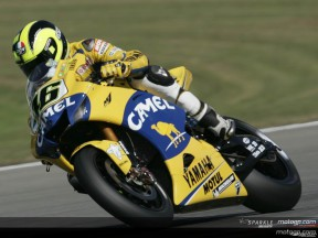 Valentino Rossi in pole position