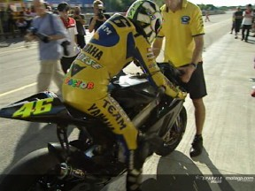 Rossi speaks on new 800cc machine