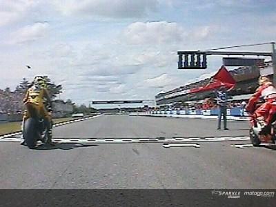 Brno Starts mit Bord-Kameras