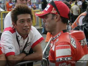 Kawajiri reflects on Capirossi's Bridgestone success in Brno