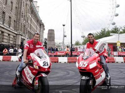 Ducati Corse hit London