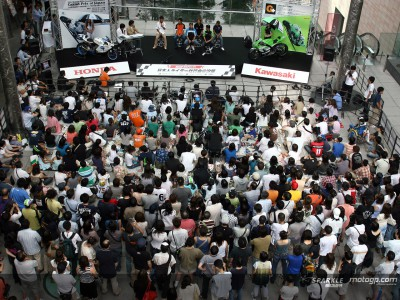 第15戦日本GPの壮行会@汐留で開催