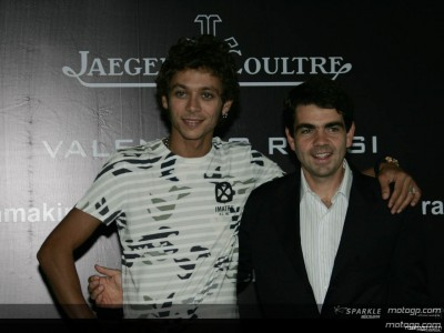 Rossi testimonial Jager-LeCoultre