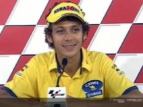 Los pilotos tras el segundo día del GP de Malasia
