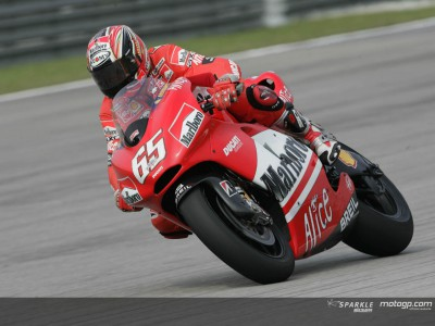 Capirossi, Lorenzo e Bautista demarcam-se no warm-up
