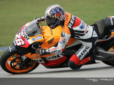 Courageous Pedrosa defies the odds at Sepang