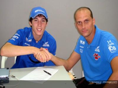 Aleix Espargaró renueva por un año con Würth Honda BQR
