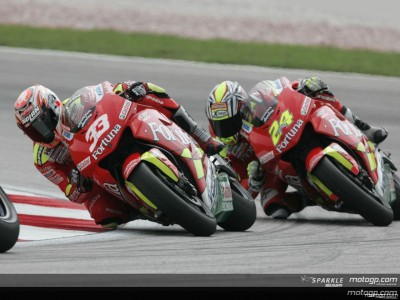 Melandri: `I will still be going out to give it my best shot every Sunday´