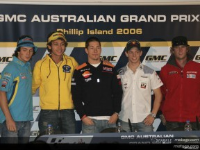 GMC Australian Grand Prix: Conferenza Stampa
