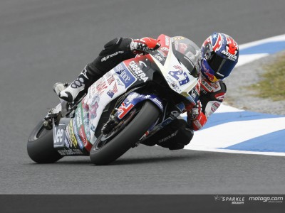 Stoner, Dovizioso y Pasini dominan el warm-up