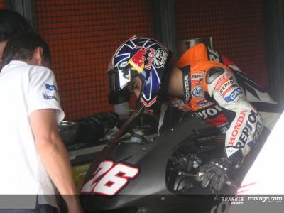 Pedrosa y Gibernau se estrenan con la 800cc en Motegi