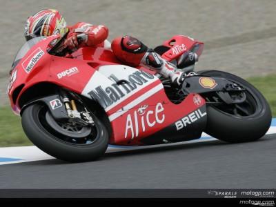 Capirossi : 'Adapter son style à la 800cc'