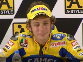 Rossi : 'Courir sans faire de calculs'