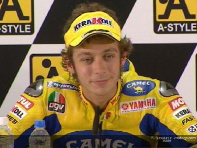 Rossi traslada toda la presión a Hayden