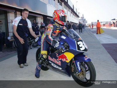 Red Bull MotoGP Academy al lavoro a Barcellona