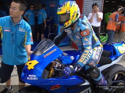 Kousuke Akiyoshi nei test invernali con Suzuki