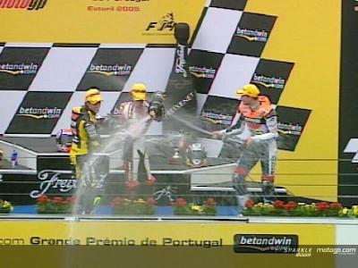 Estoril 2005: Stoner estreia-se a vencer nas 250cc