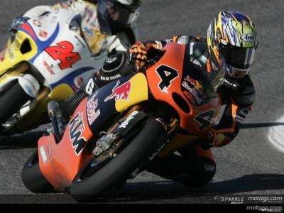Aoyama mais perto da pole nas 250cc