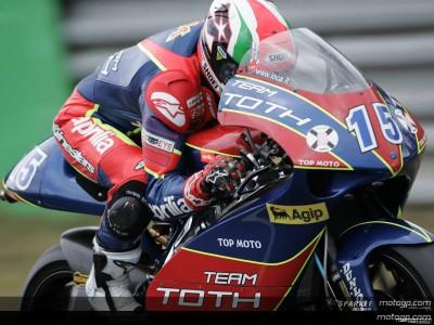Locatelli fastest in 250cc session