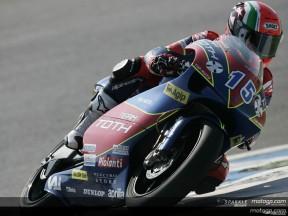 Locatelli se reafirma con su primera pole en 250cc