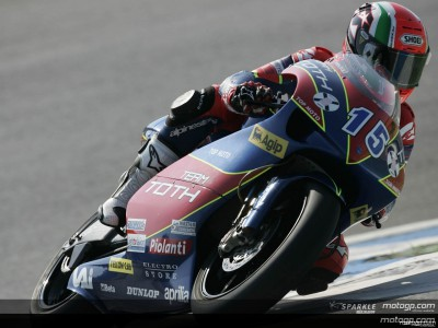 Locatelli décroche sa première pole en 250cc