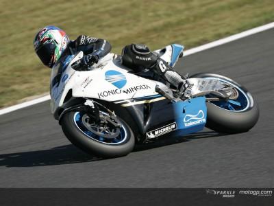 Konica Minolta seguirá en MotoGP la próxima temporada