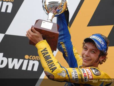 Advantage Rossi heading to Valencia