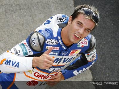 De Angelis: `Me gustaría pasar a MotoGP con un título´