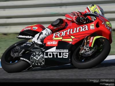 Barbera, Debon and Lorenzo top timesheets for Fortuna Aprilia
