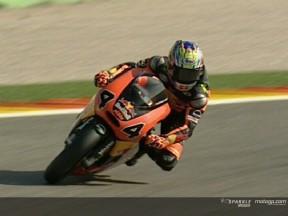 Aoyama takes pole for 250cc showdown