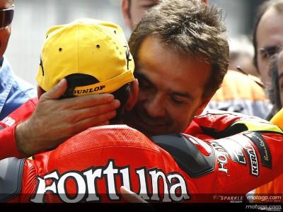 Amatriain sul team Fortuna Aprilia e Lorenzo
