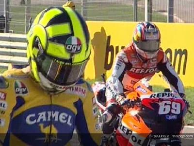 Hayden destrona al rey de MotoGP