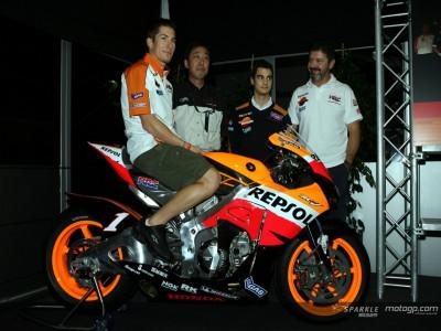 Repsol Honda presenta la RC212V 800cc