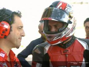 Lavilla rides Ducati GP06 at Valencia
