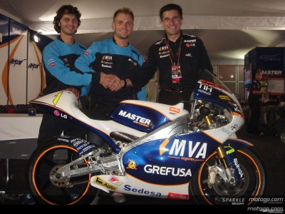 Talmacsi correrá con el Master MVA Aspar en 2007