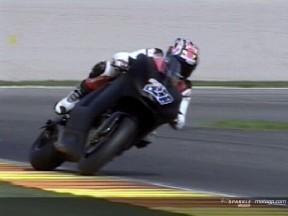 Debut positivo de Stoner con la Ducati Desmosedici GP7