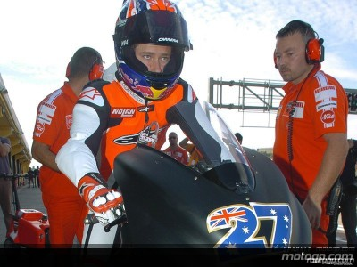 Second day of 800cc testing takes place in Spain