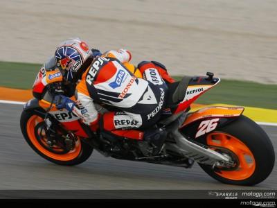 Pedrosa, schnellster am letzten Testtag in Valencia